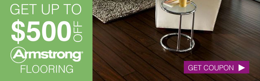 Get up to $500 off Armstrong Flooring